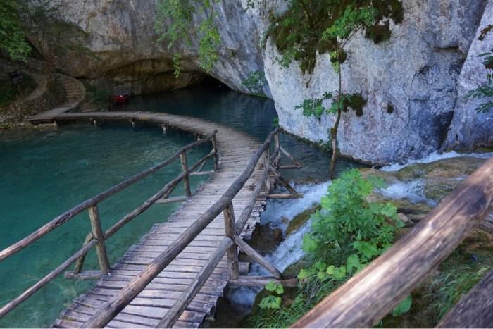 Plitvicesjöarna, Nationalpark i Kroatien