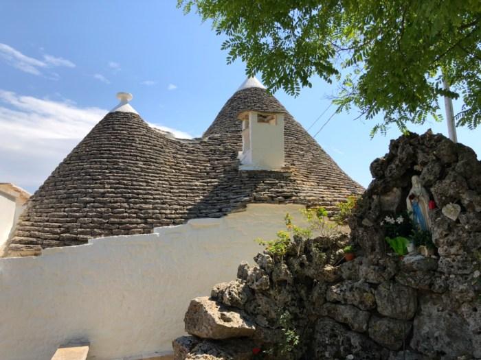 Alberobello - Trullihus i sydöstra Italien