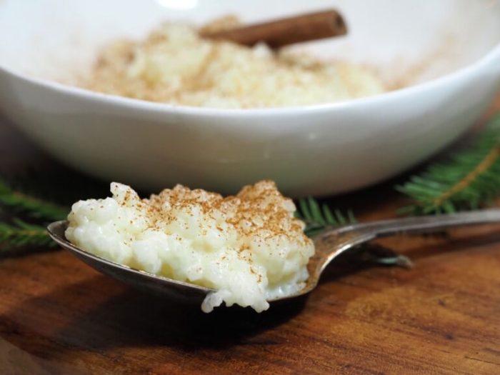 Risgrynsgröt i ugn