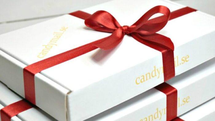 Skicka candymail till advent och jul