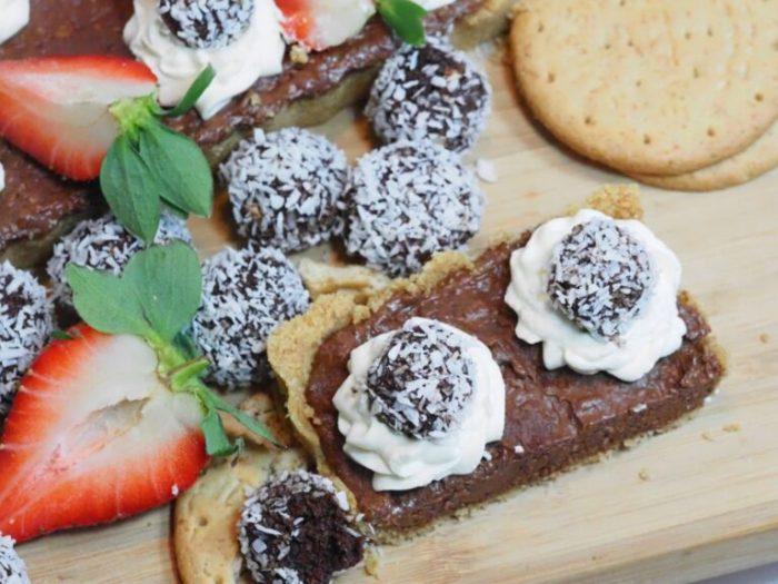 Chokladbolls paj (No Bake)