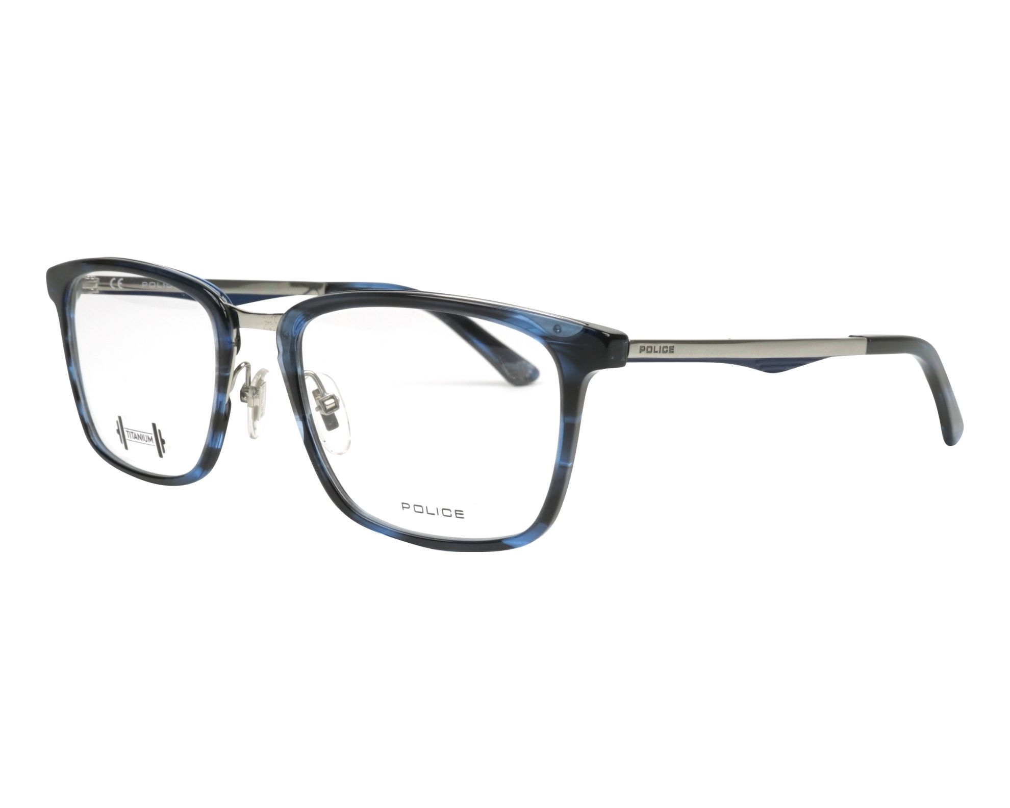 Police Glasses Blackbird Ti 2 Vpl 684 9n4m