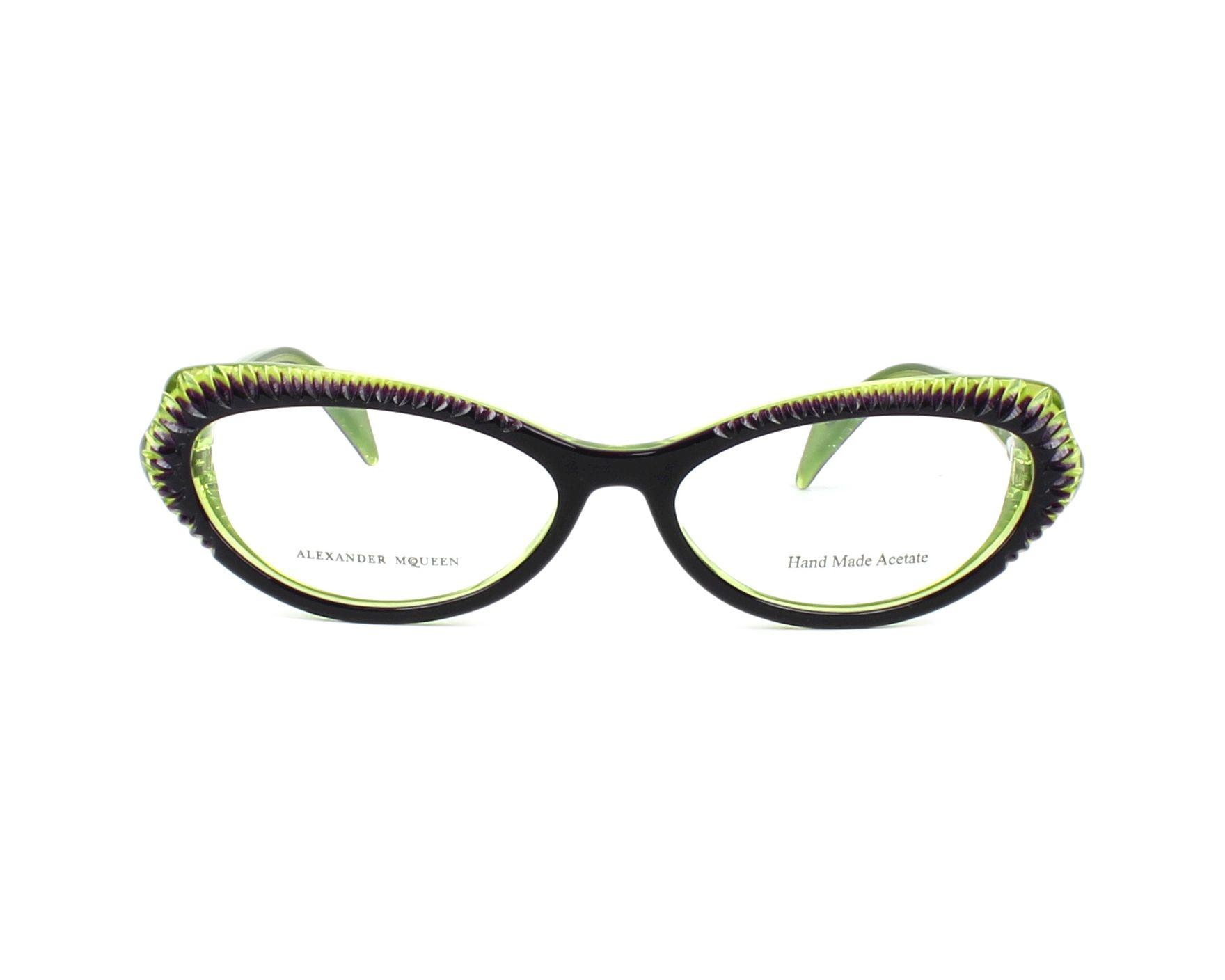 Alexander Mcqueen Eyeglasses Amq Emo Purple