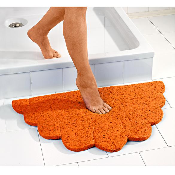 tapis ultra absorbant orange