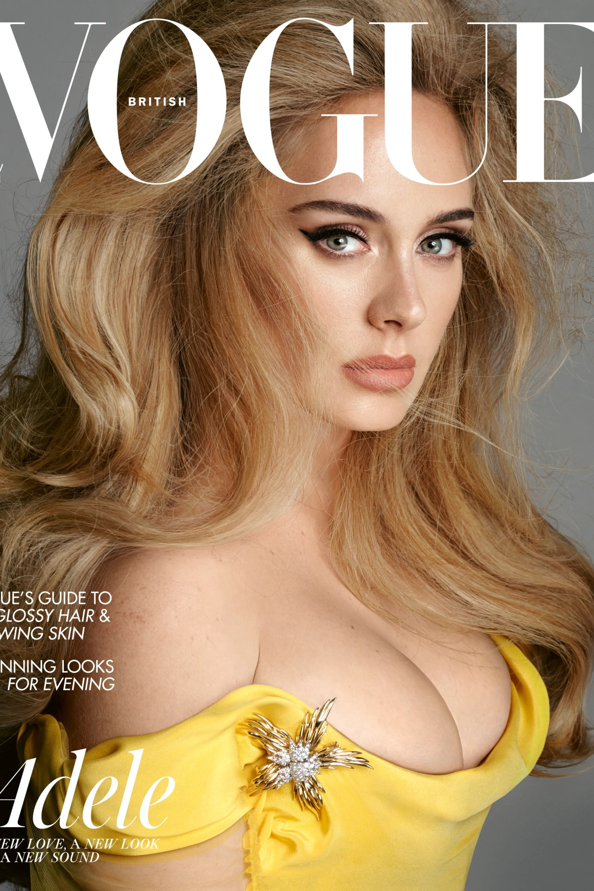 Adele Graces Two Issues Of Vogue Magazine Ahead Of New Music Release