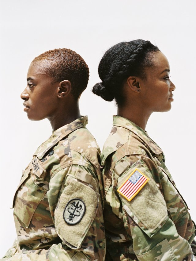 these inspiring black servicewomen are embracing natural
