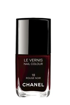 Chanels Rouge Noir Collection   Vogue Germany