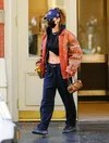 Bella Hadid-Tracksuit Loungewear