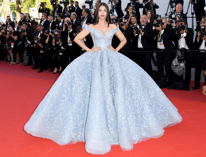 Image result for aishwarya cannes 2017