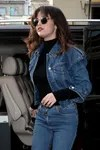 selena gomez jean jacket