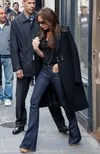 How to wear cuffed jeans according to Victoria Beckham