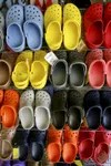 crocs in different colors