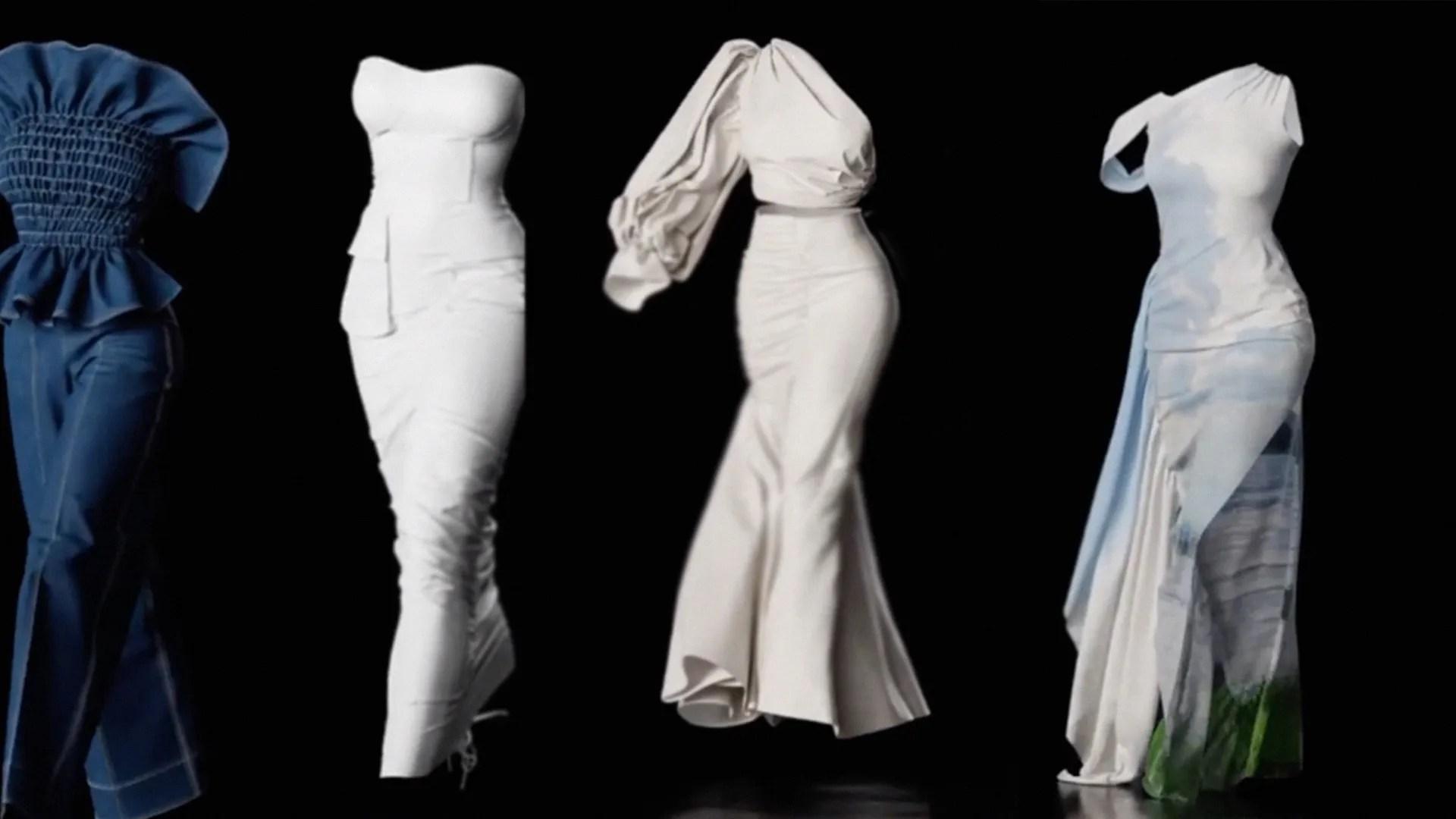 El desfile en 3D sin modelos: El futuro de la moda y la pasarela de Anifa  Mvuemba | Vogue México y Latinoamérica