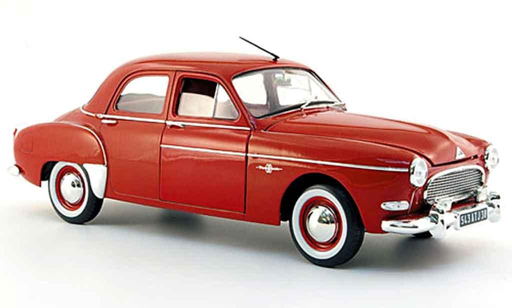 Renault Fregate Red 1959 Solido Diecast Model Car 118
