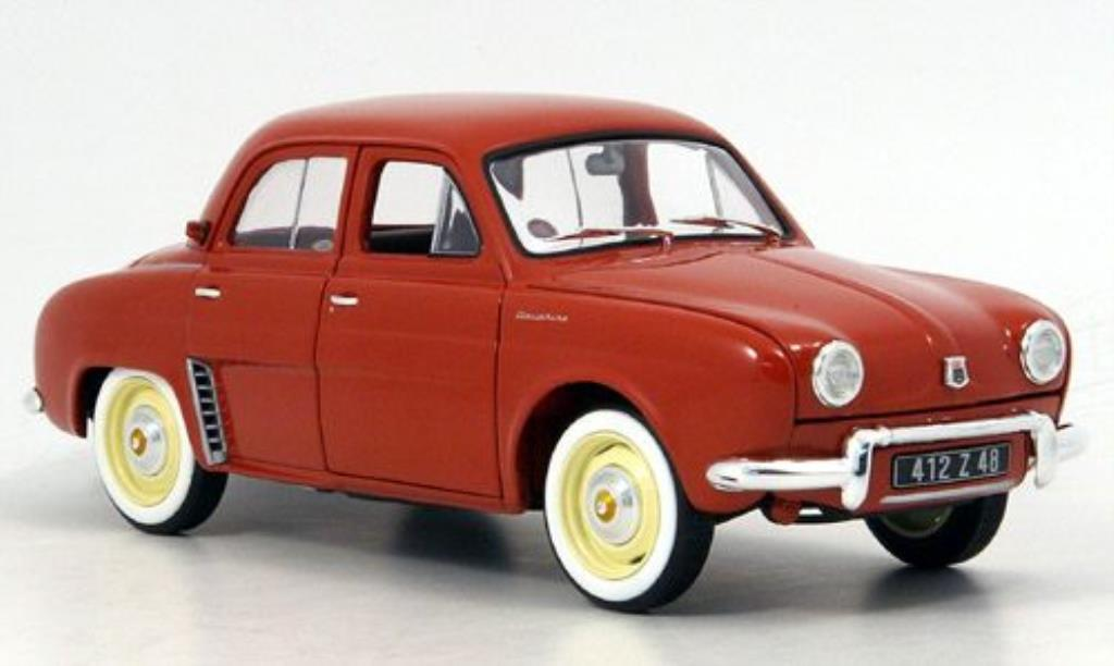 Renault Dauphine Red 1958 Norev Diecast Model Car 118