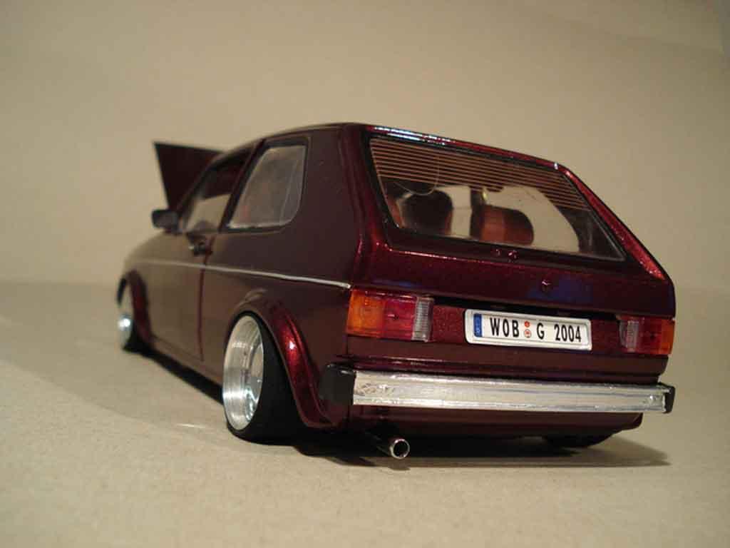 Volkswagen Golf 1 GTI German Look Bloc Moteur 16s Solido