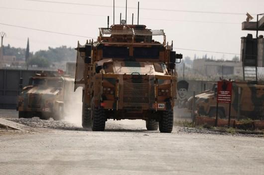 قوات تركية في شمالي سوريا
