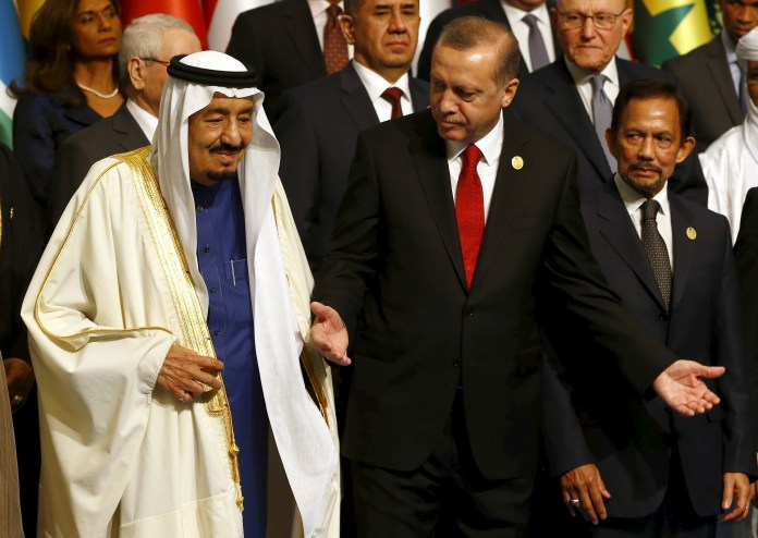 Erdogan seeks to improve his relationship with Saudi Arabia