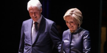 Clintons Focus on Economic Inequality at Arkansas Conference