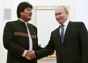 Russia's Familiar Reaction to Bolivia Political Turmoil