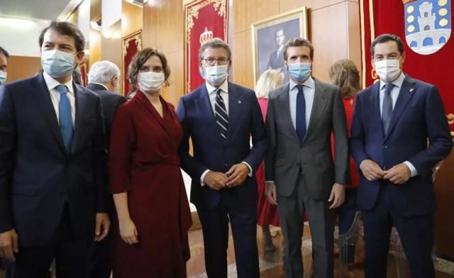 PP presidentes CCAA