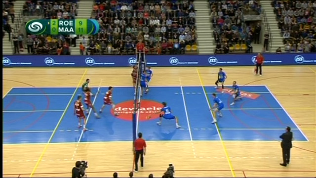 Roeselare is kampioen in het volleybal