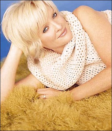 Song stylist: Christine Ebersole performed at the Terrace Theater.