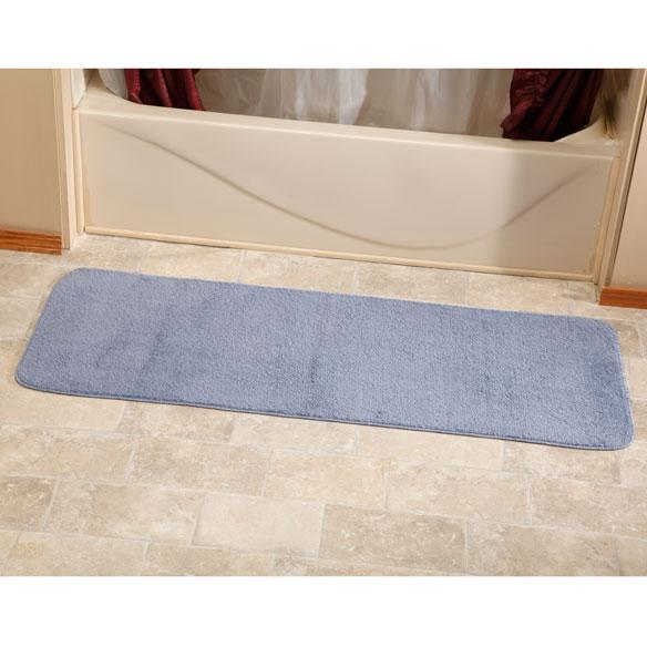 """60"""" bath rug runner - bath rug runner - bathroom runner - walter drake"""