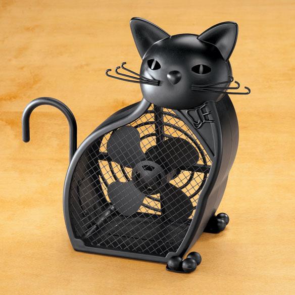 Black Cat Fan Cat Fan Table Fan Walter Drake