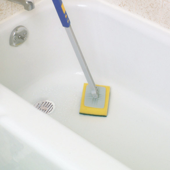 Bathtub Scrubber Bathtub Scrubber With Handle Home