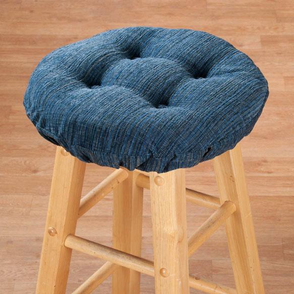 Chenille Round Bar Stool Cushion Bar Stool Cushion