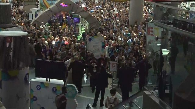 Gaming conference drawing tens of thousands in California