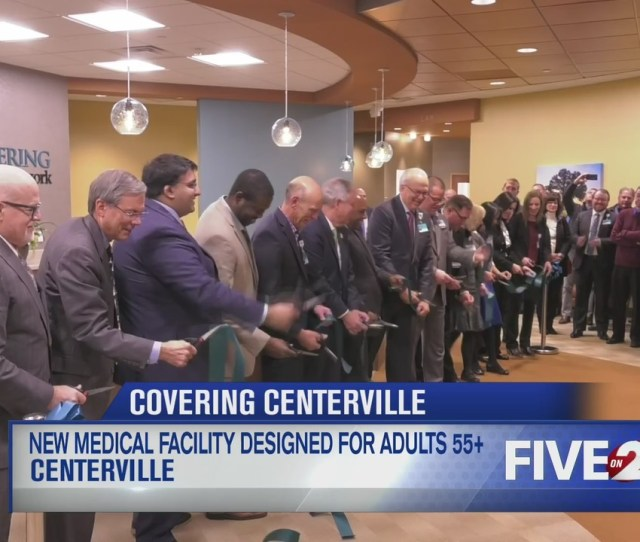 Kettering Health Network Holds Ribbon Cutting For Medical Center Designed For Ages  And Up