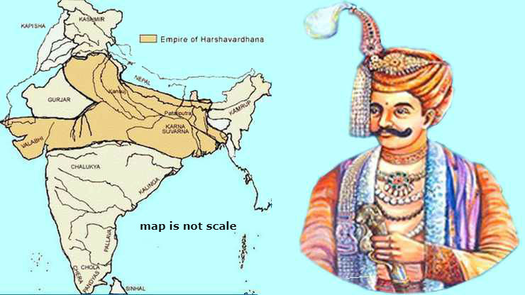 Image result for emperor harshavardhan