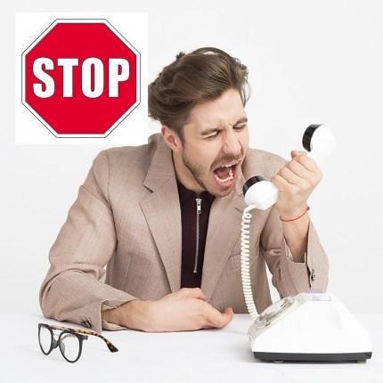 Call center invadenti