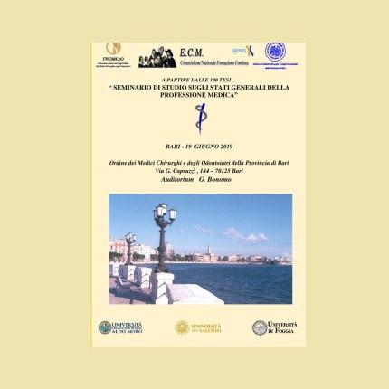 Bari: Stati Generali della Professione Medica