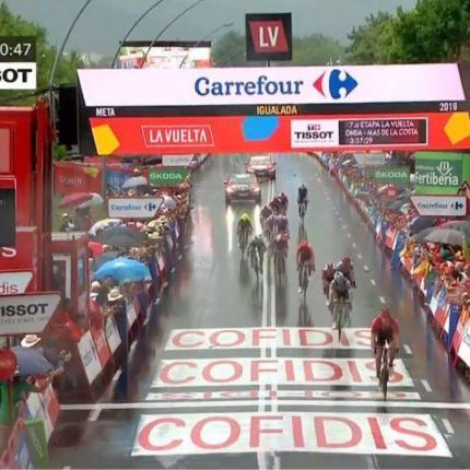 Tappa 8 della Vuelta