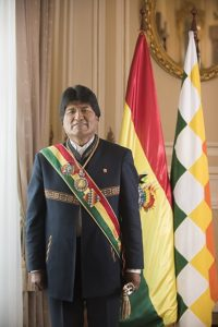 Evo Morales Bolivia elezioni