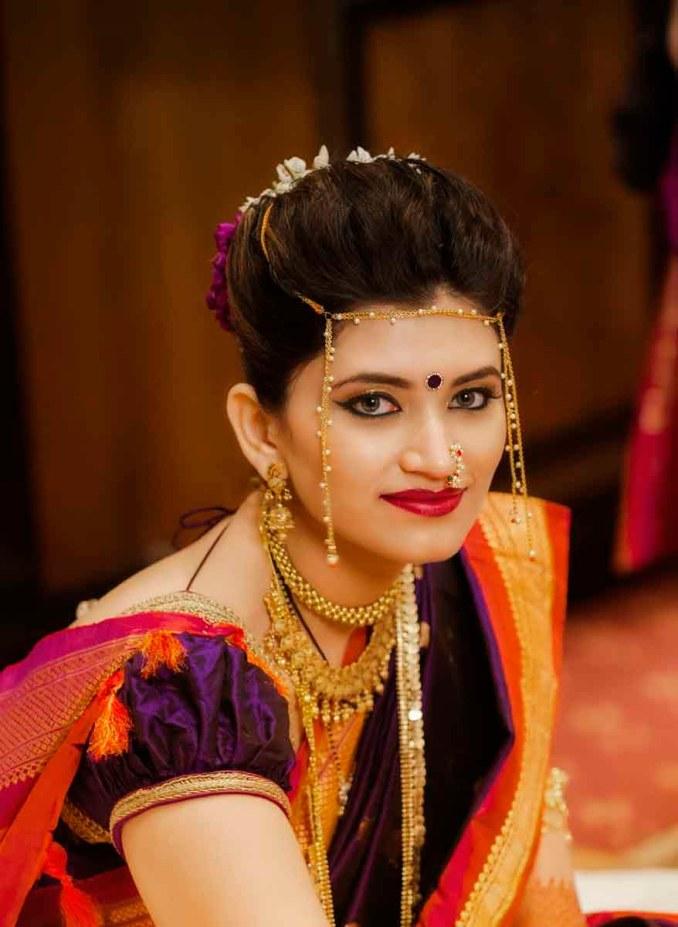 hairstyle for maharashtrian wedding - pemudi u