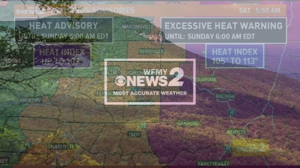 Ed Matthews' Early Saturday Morning Forecast | wfmynews2.com
