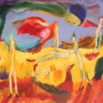 """Review: Beezy Bailey' Exhibition, """"Dancing in the Woods"""""""