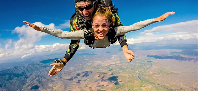 Skydiving - What's on in Cape Town