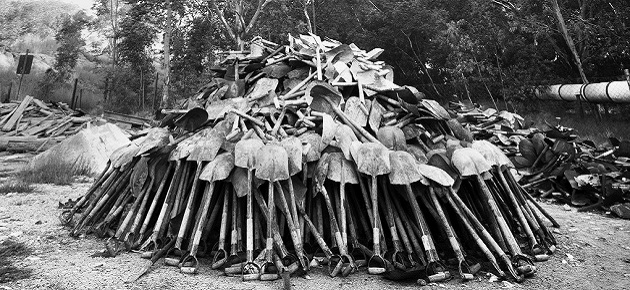 'On the Mines' by David Goldblatt at Norval