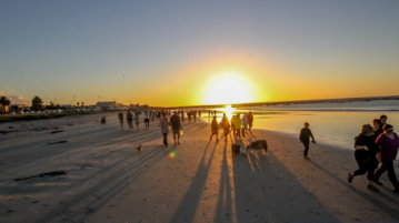 Melkbosstrand Full Moon Beach Walk