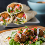Outcast Foods Plant-Based Falafel and Burger Pre-mixes
