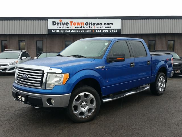 Ford F 150 Blue With Tan Bottom