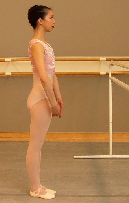 correct ballet posture
