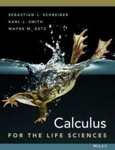 Calculus for The Life Sciences   Calculus   Mathematics   Statistics     Calculus for The Life Sciences