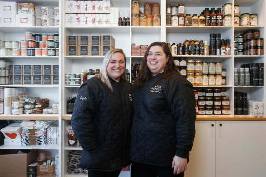 John Woods / THE CANADIAN PRESS FILES</p><p>Angela Farkas (left) and Alana Fiks are partners in life as well as business, as co-owners of Black Market Provisions in South Osborne.</p>