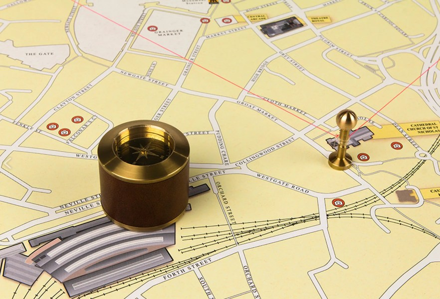 An Inspiring Idea for Turning Google Maps Into a Physical Map   WIRED An Inspiring Idea for Turning Google Maps Into a Physical Map